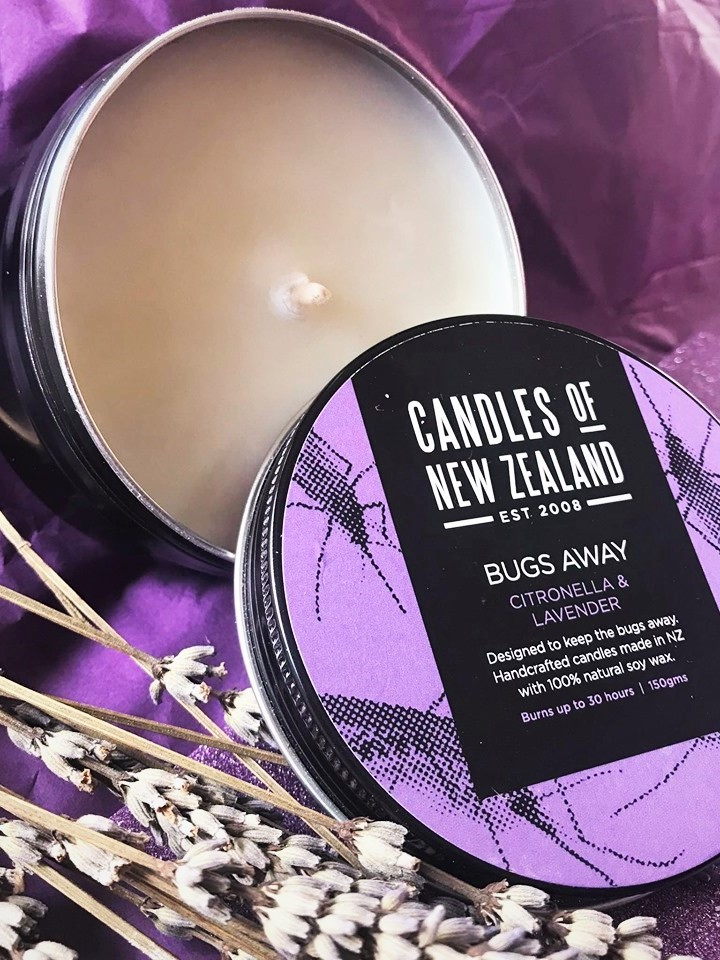 Lavender Bugs Away Candle