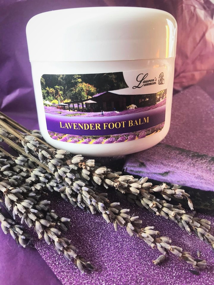 Lavender Foot Balm