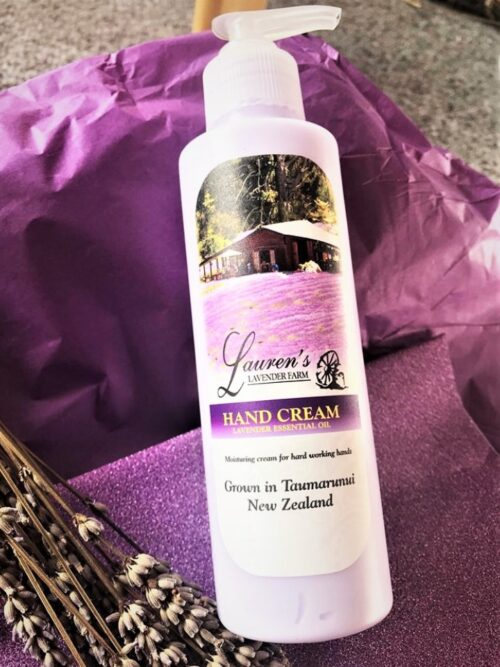 Lavender Purple Hand Cream