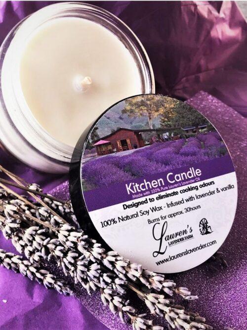 Lavender Kitchen Candle